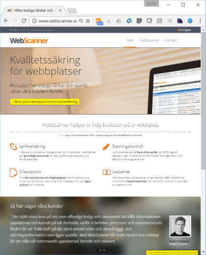 webscanner.se